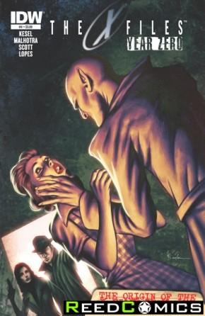 X-Files Year Zero #4