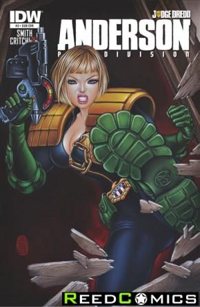Judge Dredd Anderson Psi Division #3 (Subscription Variant Cover)
