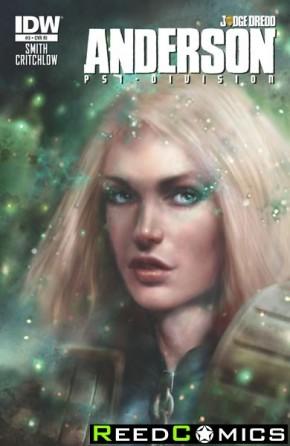 Judge Dredd Anderson Psi Division #3 (1 in 10 Incentive Variant Cover)