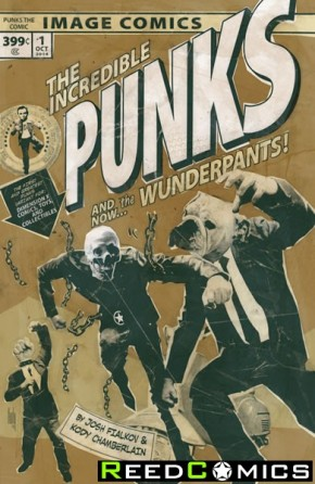 Punks The Comic #1