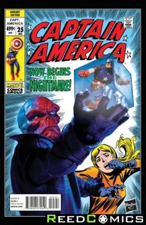 Captain America Volume 7 #25 ( 1 in 15 Hasbro Incentive Variant Cover)