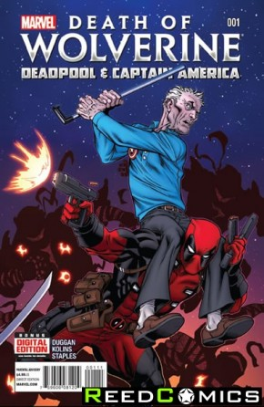 Death Of Wolverine Deadpool and Captain America #1