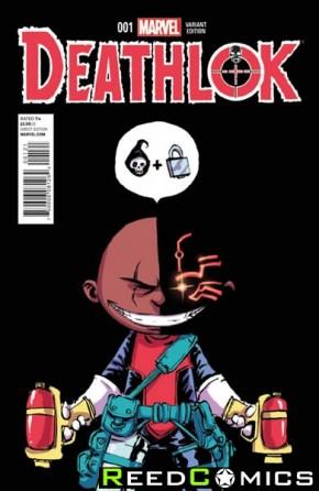 Deathlok Volume 5 #1 (Skottie Young Baby Variant Cover)