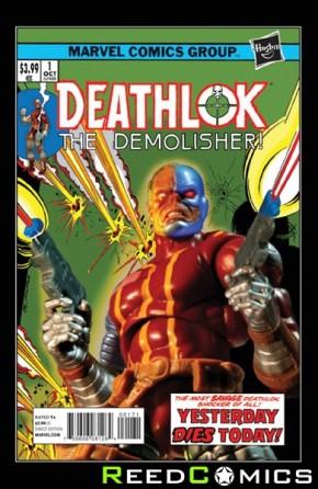 Deathlok Volume 5 #1 (1 in 15 Incentive Variant Cover)