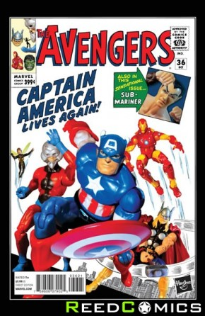 Avengers Volume 5 #36 (1 in 15 Hasbro Incentive Variant Cover)