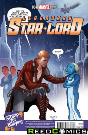 Legendary Star Lord #4 (1 in 15 Stomp Out Bullying Incentive Variant Cover)