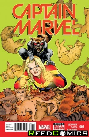 Captain Marvel Volume 7 #8