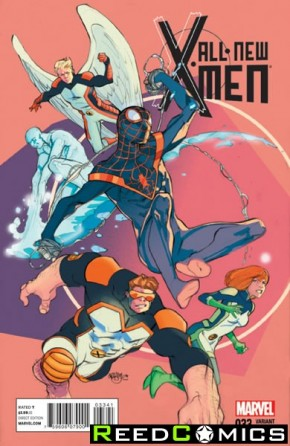 All New X-Men #33 (1 in 15 Ferry Incentive Variant Cover)