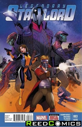 Legendary Star Lord #3 (2nd Print)