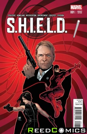 SHIELD Volume 4 #1 (McNiven Young Guns Variant Cover)