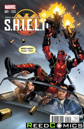 SHIELD Volume 4 #1 (Pichelli Young Guns Variant Cover)