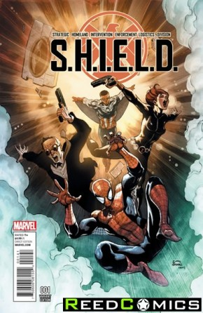 SHIELD Volume 4 #1 (Stegman Young Guns Variant Cover)