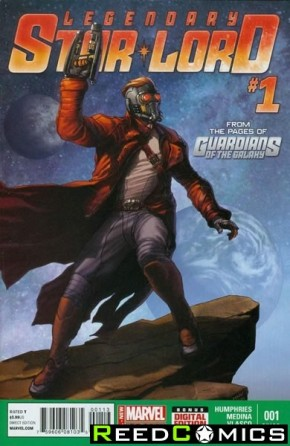 Legendary Star Lord #1 (3rd Print)