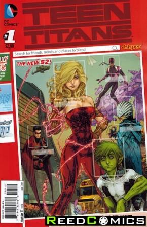Teen Titans Volume 5 #1 (2nd Print)
