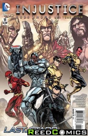 Injustice Gods Among Us Year Four #11