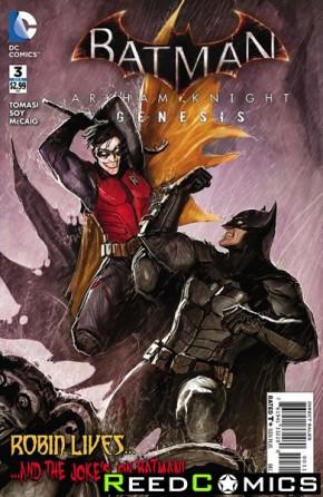 Batman Arkham Knight Genesis #3