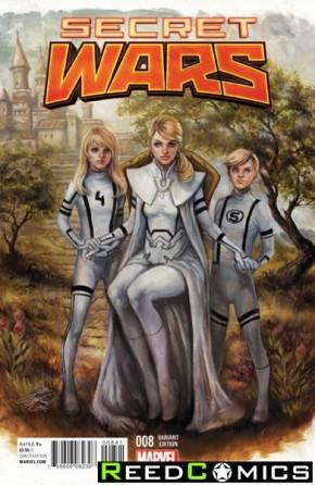 Secret Wars #8 (Oum Variant Cover)