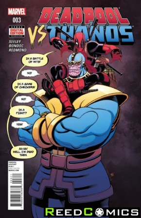 Deadpool vs Thanos #3