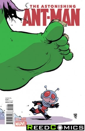 Astonishing Ant Man #1 (Skottie Young Baby Variant Cover)