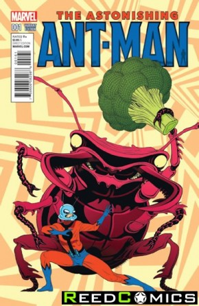 Astonishing Ant Man #1 (1 in 10 Incentive Variant Cover)