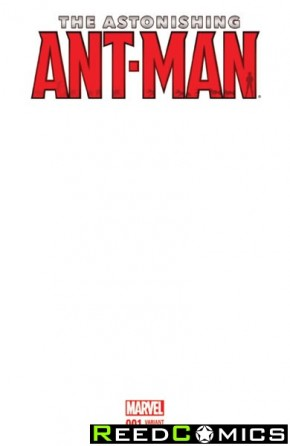 Astonishing Ant Man #1 (Blank Variant Cover)