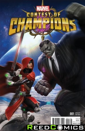 Contest of Champions Volume 3 #1 (1 in 10 Game Incentive Variant Cover)