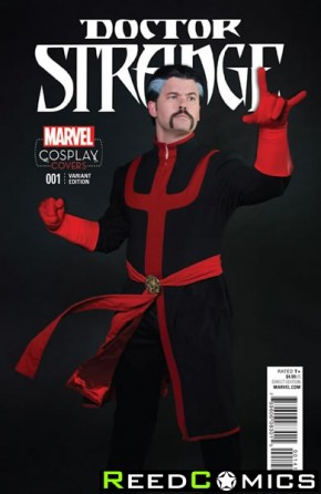 Doctor Strange Volume 4 #1 (1 in 15 Cosplay Incentive Variant Cover)