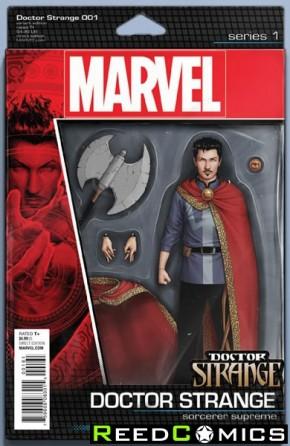 Doctor Strange Volume 4 #1 (Christopher Action Figure Variant Cover)