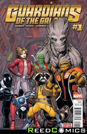Guardians of the Galaxy Volume 4 #1