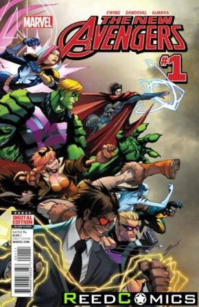 New Avengers Volume 4 #1