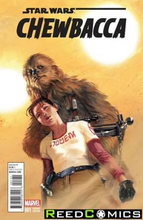Chewbacca #1 (1 in 25 Dellotto Incentive Variant Cover)