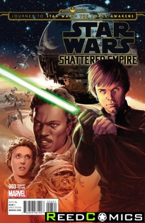 Journey to Star Wars The Force Awakens Shattered Empire #3 (1 in 25 Deodato Incentive Variant Cover)