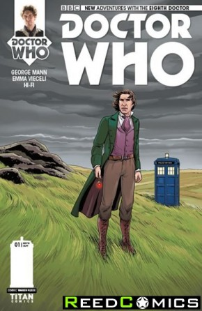 Doctor Who 8th #1 (1 in 10 Incentive Variant Cover)