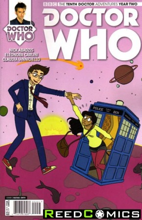 Doctor Who 10th Year Two #2 (1 in 10 Incentive Variant Cover)