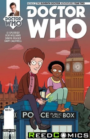 Doctor Who 11th Year Two #2 (1 in 10 Incentive Variant Cover)