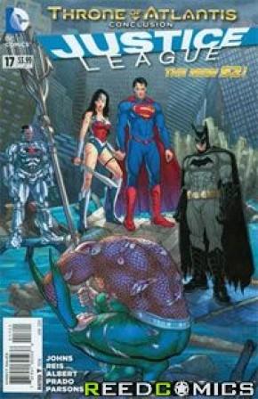 Justice League Volume 2 #17 (Steve Skroce Variant Cover)
