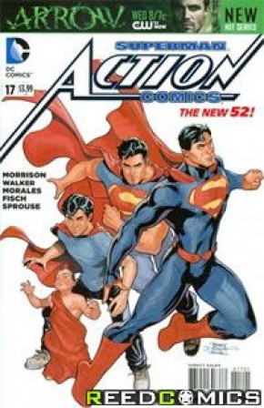 Action Comics Volume 2 #17 (Terry and Rachel Dodson Variant Cover)
