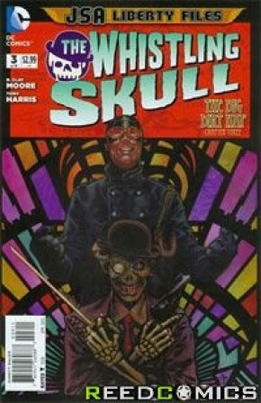 JSA Liberty Files The Whistling Skull #3