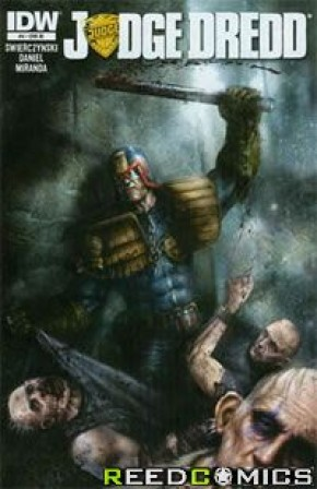 Judge Dredd Volume 4 #4 (1 in 10 Incentive)