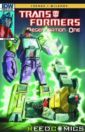 Transformers Regeneration One #88 (Cover A)