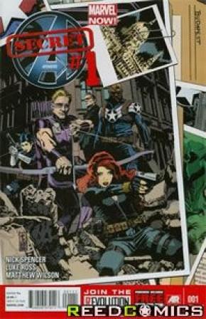 Secret Avengers Volume 2 #1