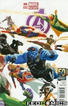 Avengers Volume 5 #6 (50th Anniversary Variant)
