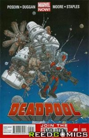 Deadpool Volume 4 #5 (1st Print) *Corner Dink*
