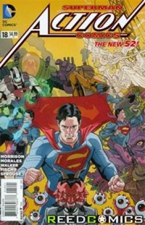 Action Comics Volume 2 #18 (Tony Daniel Variant Cover)