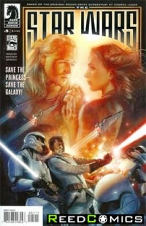 Star Wars Lucas Draft #5