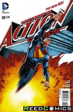 Action Comics Volume 2 #28