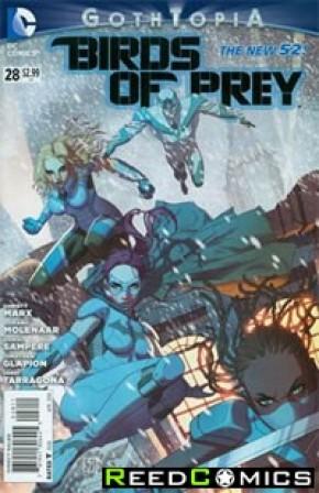 Birds of Prey Volume 3 #28