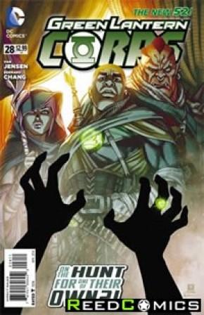 Green Lantern Corps Volume 3 #28