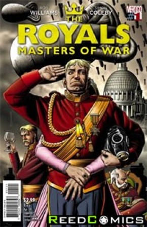 Royals Masters of War #1 (1 in 13 Incentive Variant Cover)