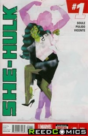 She Hulk Volume 3 #1 (2nd Print)